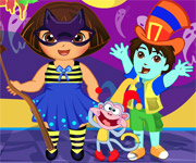 Dora Halloween Prepare More