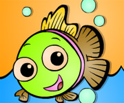 Cartoon Fish Coloring
