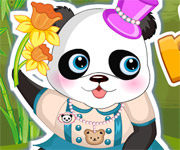 Lovely Panda Dress Up